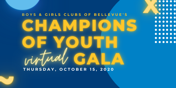 Champions of Youth Gala is October 15